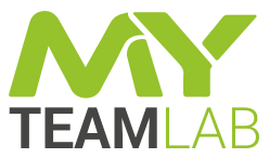 MY TEAM LAB | Consultance Financial Expertise Human Resources Business Values Logo